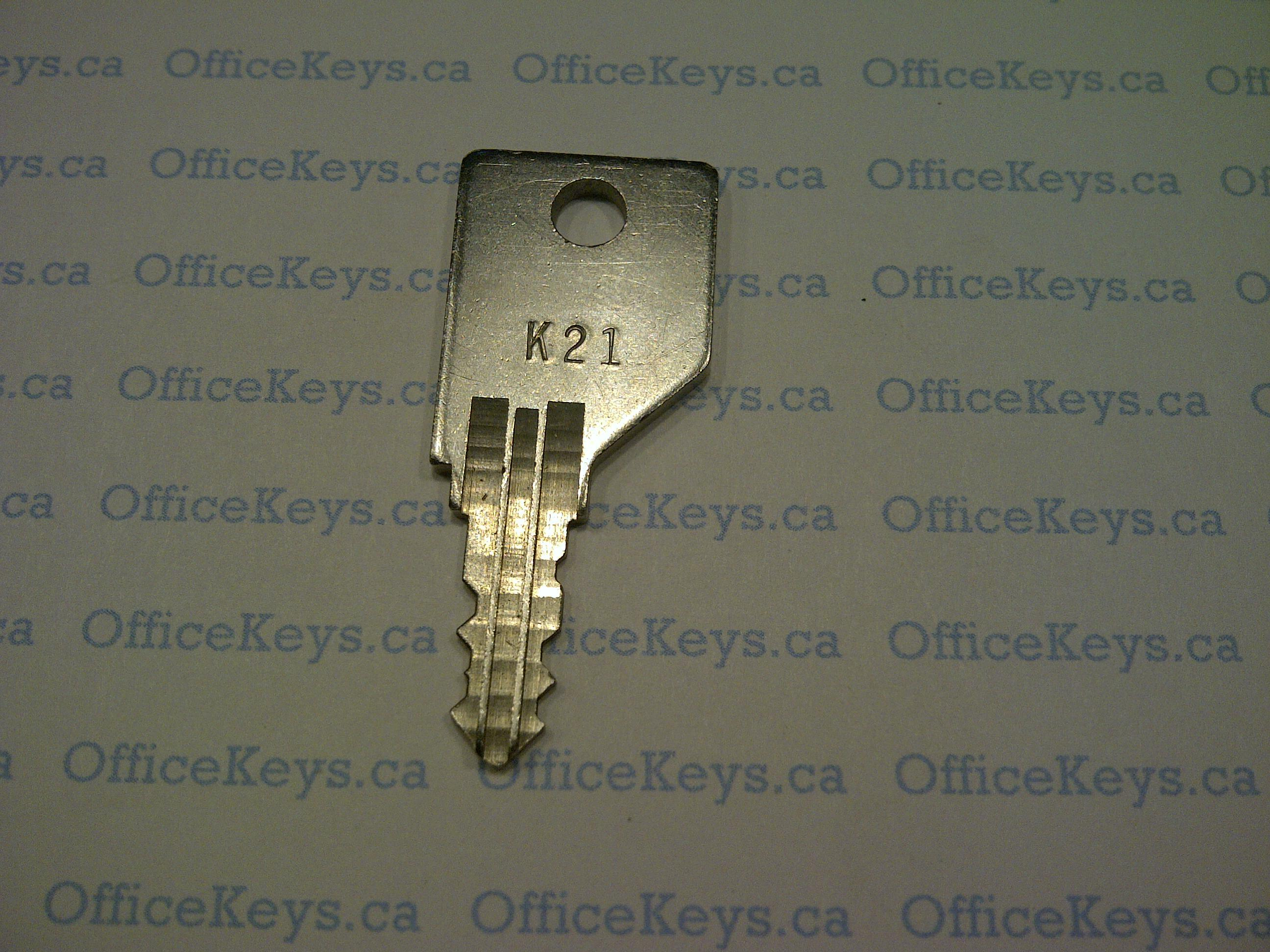 Office Specialty K1 K1092 Code Keys