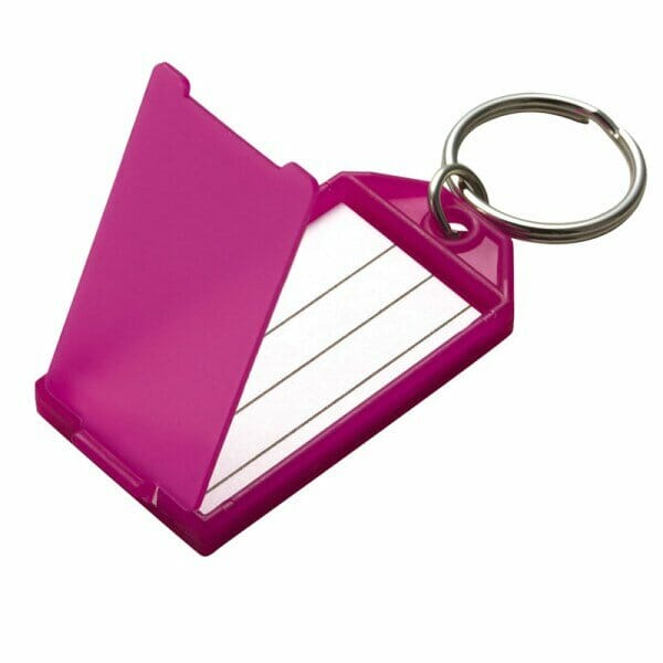 Key-Tag-with-Flap-Split-Ring 605