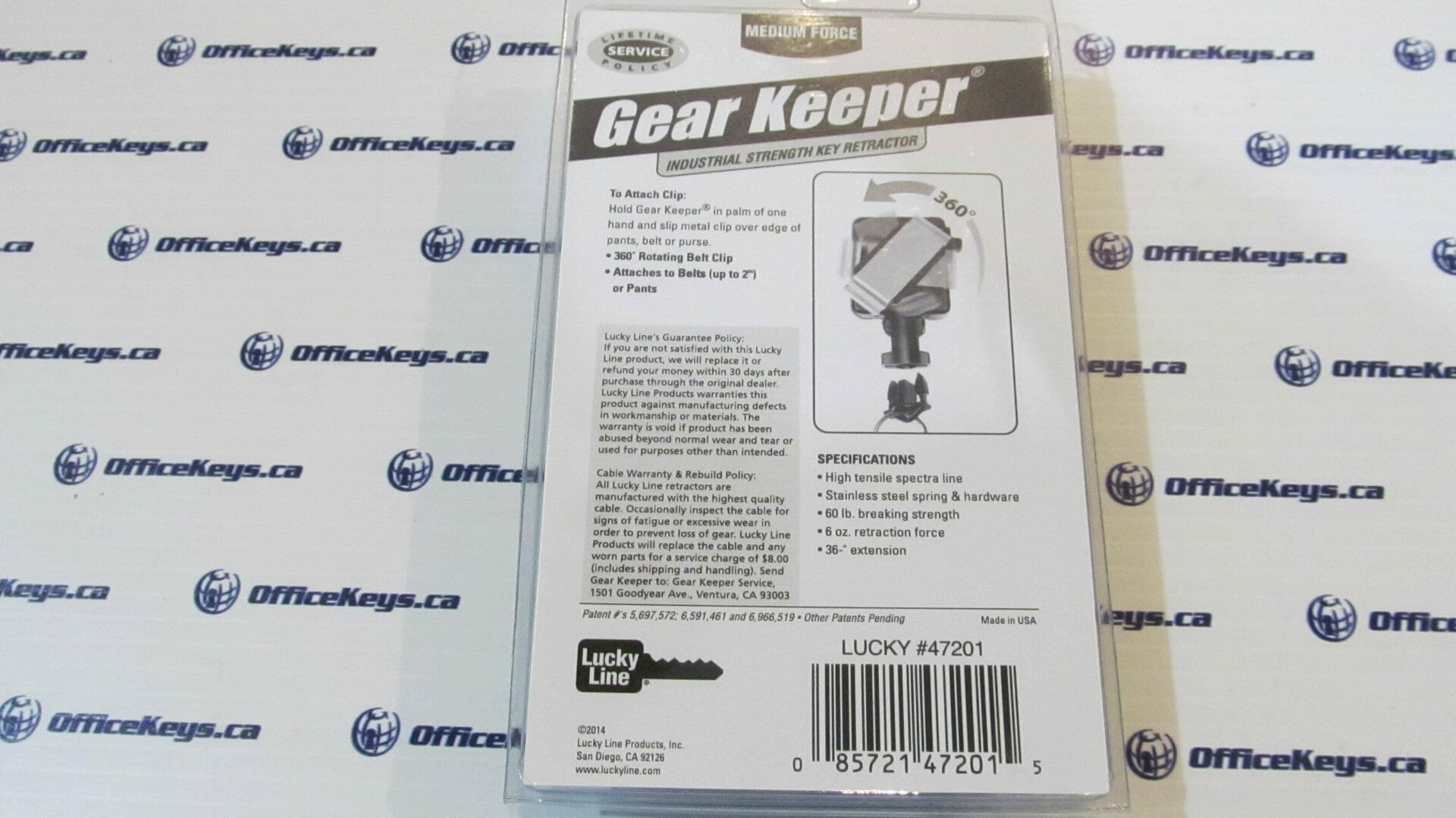 Lucky Line #472 Medium Force Gear Keeper