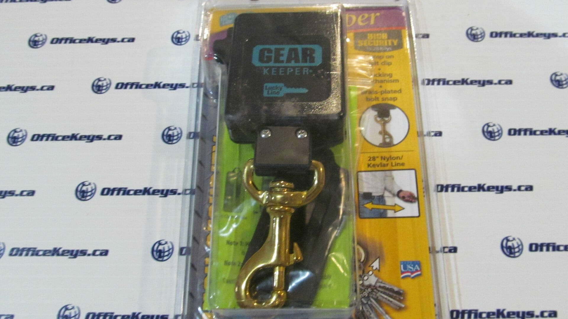 Lucky Line #474 High Security Gear Keeper