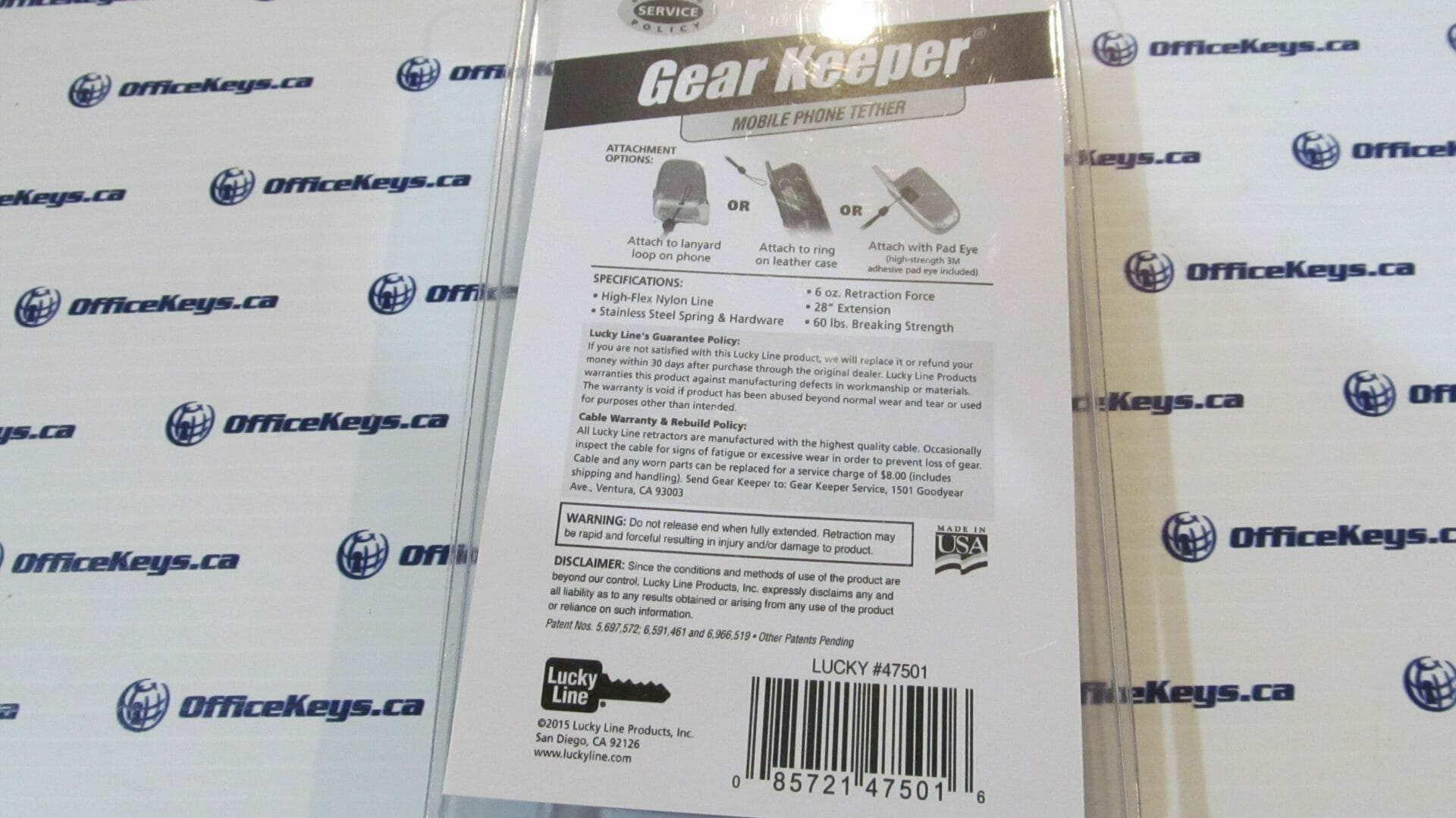 Cell Phone Gear Keeper